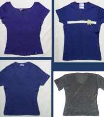S, 36 - Több póló, kék, barna, lila
