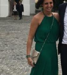 Zöld maxi ruha