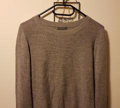 Terranova szürke basic pulóver