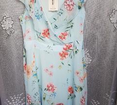 Orsay kék virágos ruha(ingyen pos