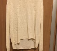 C&A fehér pulcsi S