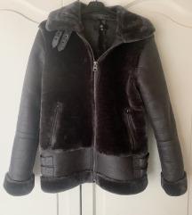 Szőrme aviátor kabát / dzseki