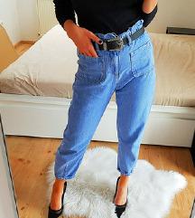 Új ZARA paperbag baggy jeans