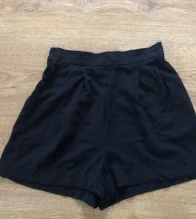 H&M basic, lenge fekete shorts
