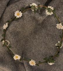 margarétás virágkoszorú