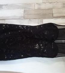 Fekete glitteres ruha