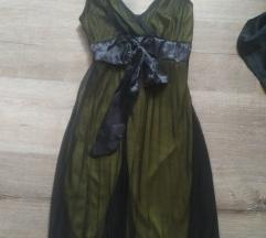 Fekete-citromsárga ruha 👗