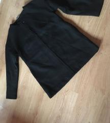 42-es női hosszított zakó kabát fekete