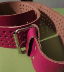 Új, rózsaszín öv eladó
