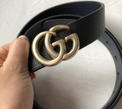 Arany mini Gucci öv