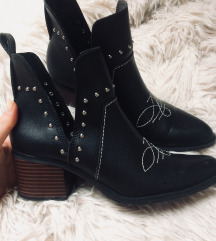 Bershka Cut Out Boots ÚJ