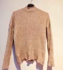 Rózsaszín garbó pulcsi