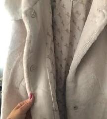 H&M bunda, plüss kabát