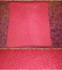 Pink kötött csősál