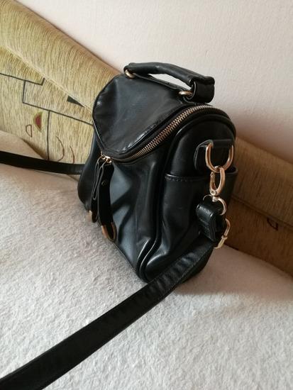 Kis fekete oldal táska