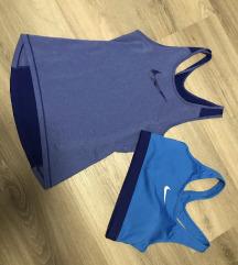 Nike Dry fit trikó és sportmelltartó