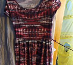 New Look rövid ujjú mintás ruha