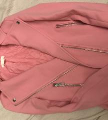 H&M rózsaszín kabát