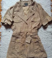 Teve színű szafari stílusú dzseki