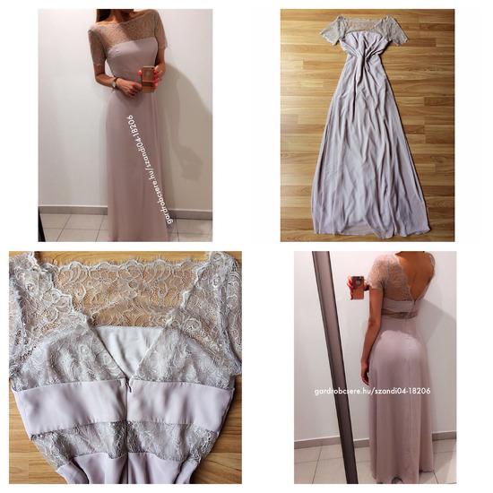 Csipkés maxi ruha