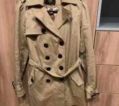 Khaki keki színű ballonkabát kabát
