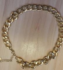 H&M arany színű nyaklánc