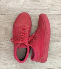 Vans old skool red crimson