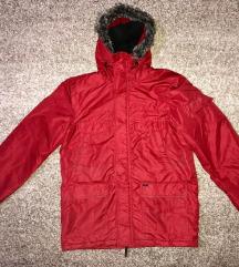 Piros férfi kabát