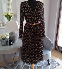 Elegáns mintás ruha -új