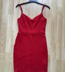 TALLY WEIJL piros ruha