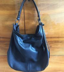 Nagy fekete pakolós shopper bag táska