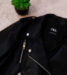 Zara új állapotú bőrkabát