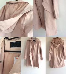 *ÚJ* púder színű parka kabát
