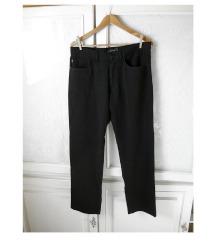 ✿ Fekete elegáns Saxoo London hosszú nadrág