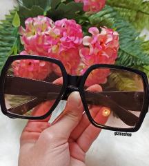 Y S L szemüveg PINK lencsével SAJÁT fotó!
