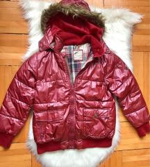 Bordó lányka kabát