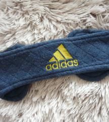 Puha meleg kék  Adidas fülmelegítő / fejpánt ❤