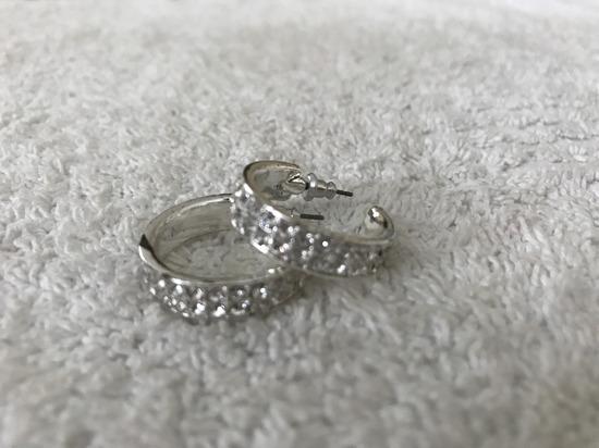 Avon ezüst fülbevaló