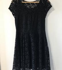Alkalmi fekete csipke ruha