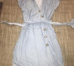Zara denim farmering ruha