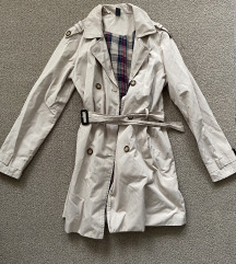Zara bézs tavaszi kabát