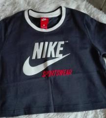 Eredeti Nike crop felső, sötétkék