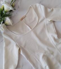Bershka fehér mini ruha