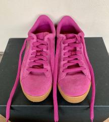 PUMA pink bőr cipő - Teljesen új!