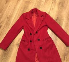 Piros olasz kabát