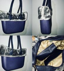 Obag kék táska