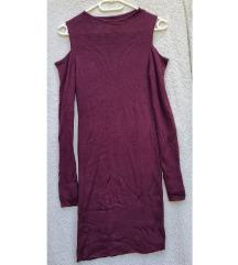 Bordó, kötött ruha