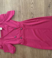Puffos pink ruha