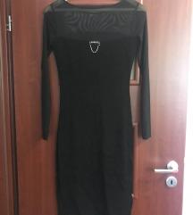 MAGENTA felül hálós alkalmi ruha