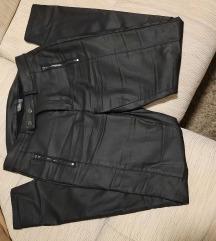 Bőrhatású női nadrág
